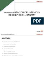 Presentación Help Desk BANMAT