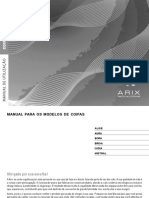 Manual Instalação Coifa Arix