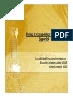 Unidad II Contabilidad y Control Del Disponible