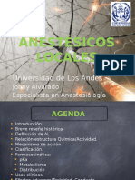 Anestesicos Locales Pregrado 2015