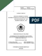 Analisis Rantai Nilai Komoditas Jagung Serta Strategi Peningkatan Pendapatan Petani Jagung Di Provinsi Gorontalo