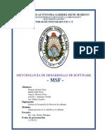 Msf Documento
