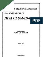Ihya' °ulum ad-Din [vol.2