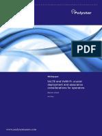 Analysys Mason VoLTE VoWiFi Whitepaper Mar2015 RMA01