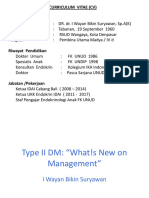 Dr. Dr. I Wayan Bikin Suryawan SpA(K) - Type II DM ; Whats New on Management