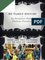 my family history ben f