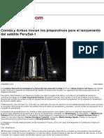Conida y Airbus Inician Los Preparativos Para El Lanzamiento Del Satélite PeruSat-1 - Noticias Infodefensa América