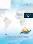 OPEC Annual Statistical Bulletin_50th Edition_2015