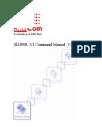 SIM908 at Command Manual V1.02