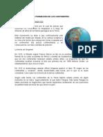Formación Geológica Del Istmo de Panamá