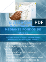 Diversificacion Internacional Mediante Fondos de Paises