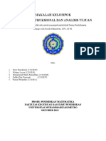 analisis intruksional dan tujuan