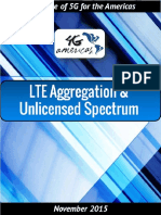 4G Americas LTE Aggregation Unlicensed Spectrum White Paper - November 2015