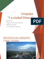 Arequipa La Ciudad Blanca