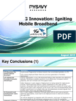 4G Americas Rysavy LTE and 5G Innovation PPT