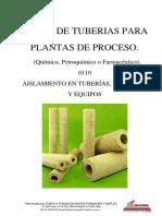 Curso de tuberías para plantas de proceso - 0110 Aislamiento para Tuberias Valvulas & Equipos