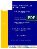 Manual de Fisicoquimica I