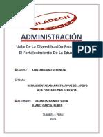 Herramientas Administrativas Del Apoyo a La Contabilidad Gerencial (1)