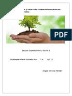 Medio Ambiente y Desarrollo Sustentable Con Base en Energías Renovables