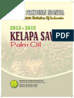 Statistik Sawit Indonesia 2013 -2015