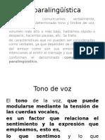 La Paralingüística