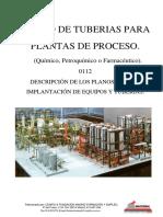 Curso de tuberías para plantas de proceso - 0112 Plot Plan & Layouts