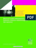 Manual Para La Realización de La Historia Clínica Odontológi