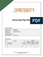 VSN-CIV-S-09 Driven Steel Pipe Piles