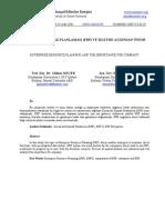 kurumsal kaynak planlaması (erp) ve işletme açısından önemi