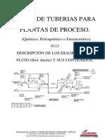 Curso de tuberías para plantas de proceso - 0113 Descripcion Diagramas de Flujo