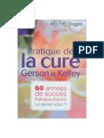 Dogna Michel Pratique Cure Gerson Kelley