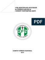 pedoman resertifikasi apoteker 2015