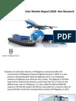 Philippines Cold Chain Market Report - 2020| Philippines Cold Chain Market Size