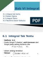 integral MATEMATIKA I kuliah