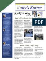 Kaity's Korner May 10