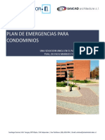 plan de Emergencia Condominios