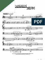 Evergreen - FULL Big Band - Wolpe