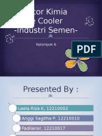 Gratecooler Proses Semen Cooling