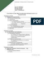 Programa Introducción a La Constitución.