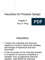 4-L2-Heuristics for Process Design