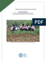Junior Farmer Field and Life Schools Inventory