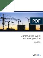 Construction Work Code Practice 3842