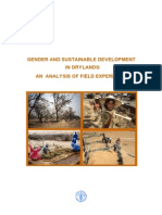 Gender and Sustainable Development in Drylands