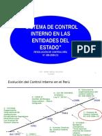 Sistema de Control Interno en Las Entidades Del Estado