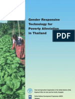 Gender responsive technology for poverty alleviation in Thailand - Part 1