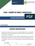 Clases Sifon Invertido- teoría, diseño y cálculo