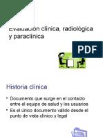 2) Evaluación Clínica, Radiológica y Paraclínica