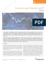 Functional and Load Testing VoLTE Solution Brief
