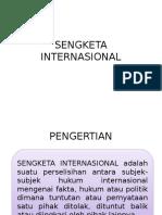 SENGKETA INTERNASIONAL