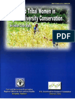 Rural and Tribal Women in Agrobiodiversity Conservation
